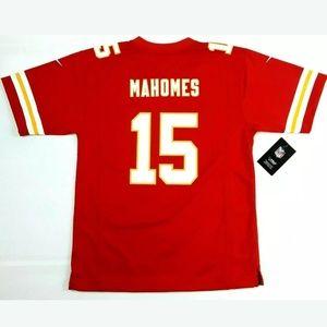 Nike Kansas City Chiefs Patrick Mahomes 15 Jersey